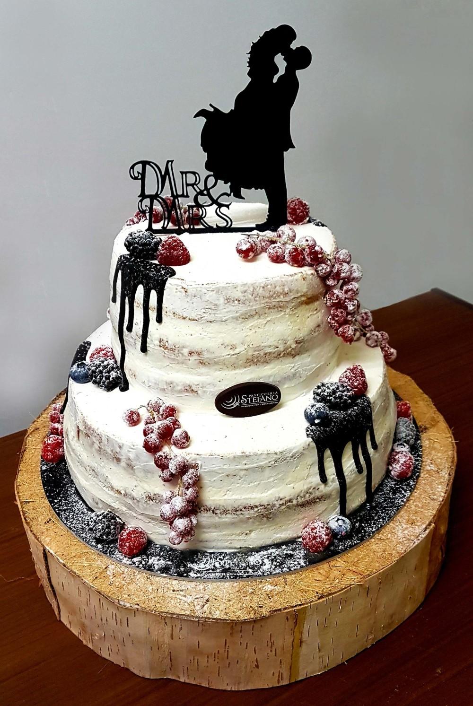 Naked Cake ai frutti di bosco - Barbarella Chef